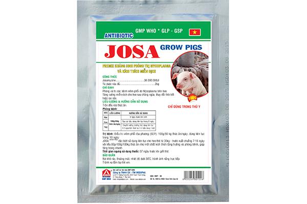 josa grow pigs