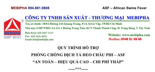 1. MBP – QT HỖ TRỢ PHÒNG CHỐNG ASF-1